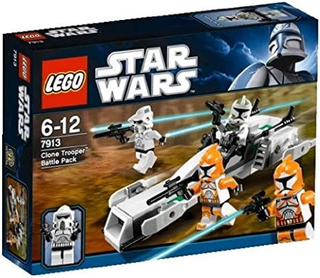 senza scatola//minifigure LEGO Star Wars-Clone Trooper Speeder da Set 75206