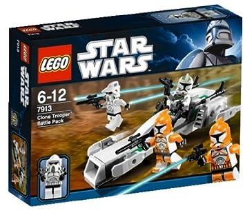 LEGO Star Wars 7913 - Clone Trooper Battle Pack: Amazon.es: Juguetes y juegos