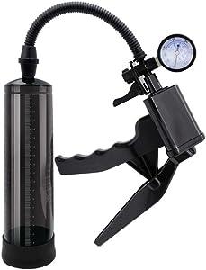 """Spadoni IT 8"""" Male Vacuum Pump Advanced Pistol Grip En Big r Enhancement Extender LoveTime 12672"""