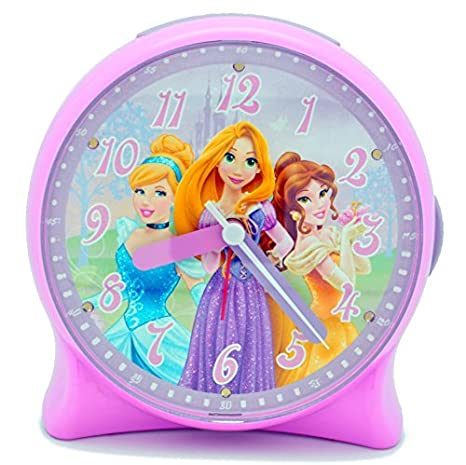 Amazon.com: Disney Princess – Despertador luminoso: Home ...