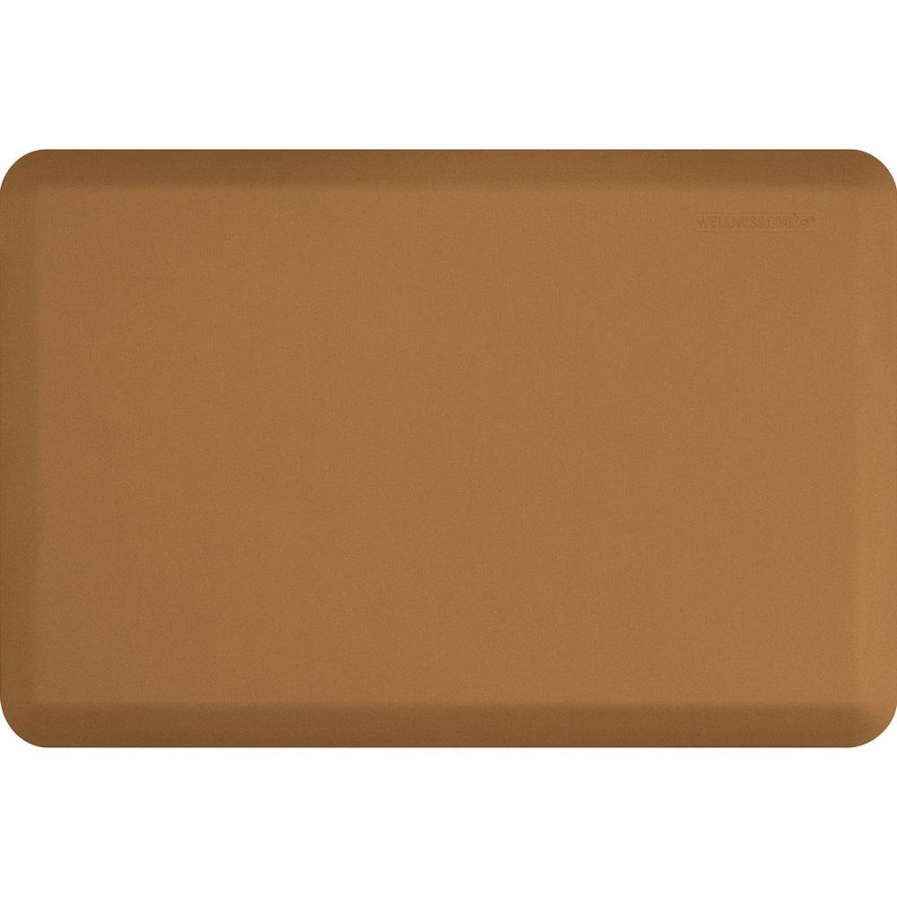 WellnessMats Original Anti-Fatigue Kitchen Mat, 36 Inch by 24 Inch, Tan by WellnessMats (Image #1)