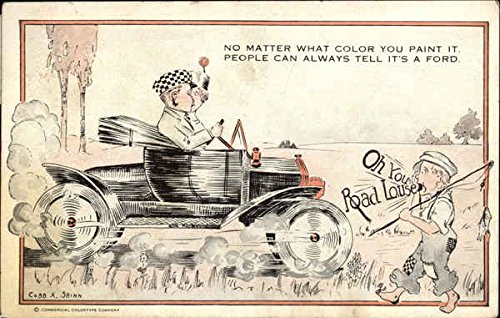 Vintage Advertising Postcard: Ford Automobile Advertisement - Vintage Automobile Advertisements