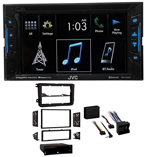 2008-2011 Volkswagen Gli VW JVC DVD/CD Player w/Bluetooth/USB/iPhone/Android