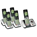 VTech 5 Handset DECT 6.0 Cordless Phone Bundle with (1) CS6529-4 Phone System