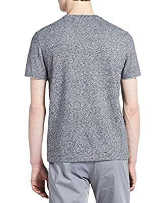 Calvin Klein Men's Short Sleeve Faux Double Layer Crew Neck T-Shirt