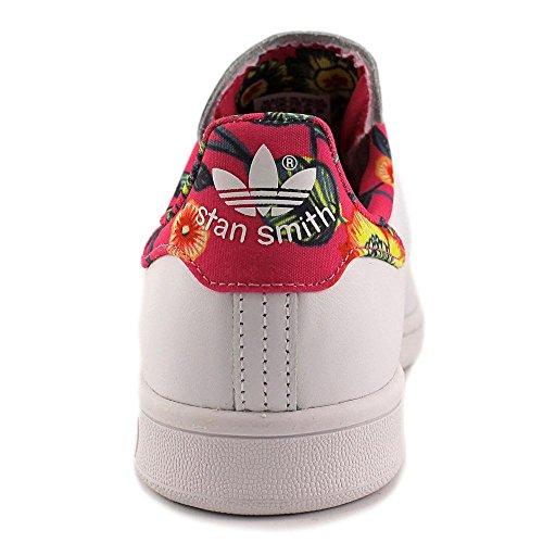 adidas Originals Frauen Stan Smith W Fashion Sneaker Farbe Ftwr Weiß / Ftwr Weiß / Ray Pink F13