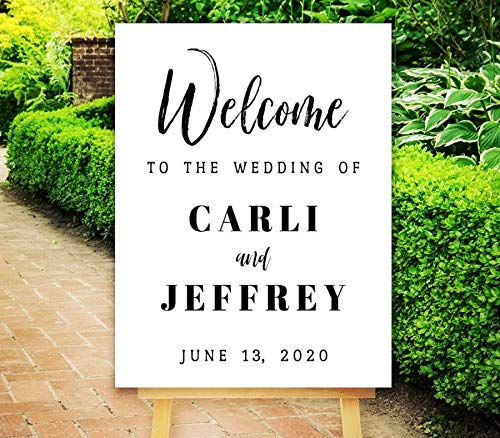 Dozili Welcome Wedding Sign Wedding Printable Welcome to