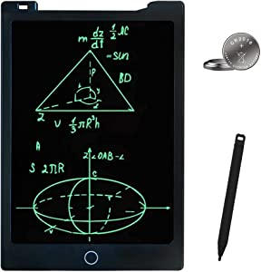 JONZOO LCD Writing Tablet 11 inches Erasable Handwriting Drawing Pad Electronic Notepad Doodle Board with Magnets Gift for Kids Adults at Home School Office (Black)