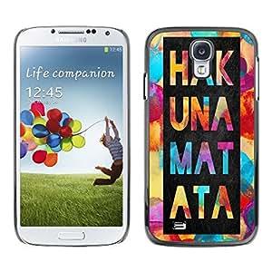 Dragon Case - FOR Samsung Galaxy S4 - Do more than other - Caja protectora de pl??stico duro de la cubierta Dise?¡Ào Slim Fit