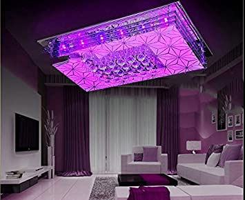 Kronleuchter Mit Farbwechsel ~ Moderne led farbwechsel kristall lampe schlafzimmer wohnzimmer