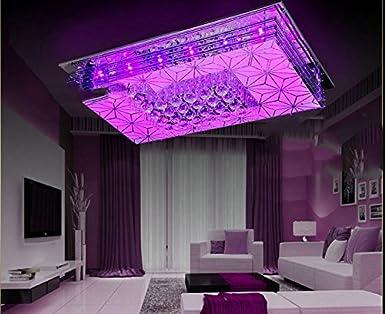 Kronleuchter Quadratisch ~ Lun moderne led farbwechsel kristall lampe schlafzimmer wohnzimmer