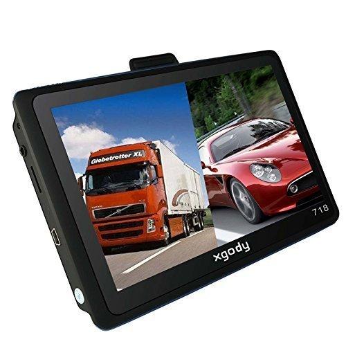 Xgody 7 Inch Portable Truck Car GPS Navigation Sat Nav Touch