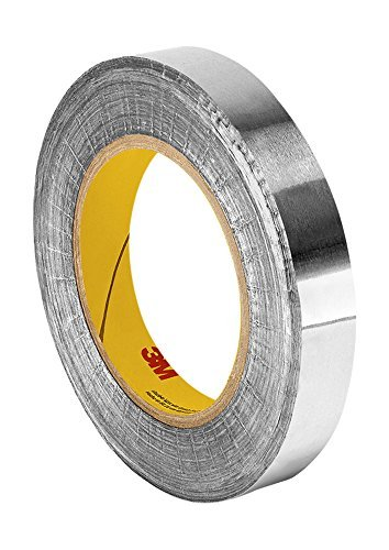 (TapeCase Silver Aluminum Foil Tape with Conductive Acrylic Adhesive, Converted from 3M 1170, 18 yd Length, 1