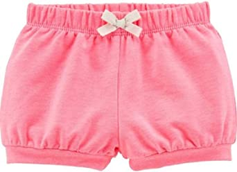 Pink Carters Baby Girls French Terry Pull On Bubble Shorts 24 Months