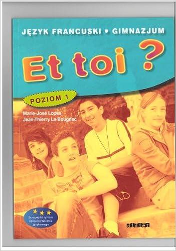 Lire Et Toi ? Niveau 1 Pologne Livre Eleve pdf, epub