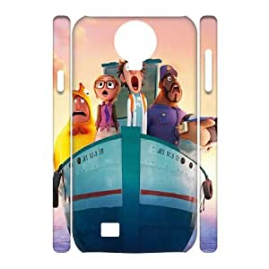 WJHSSB Diy case Cloudy with a Chance of Meatballs customized Hard Plastic 3D Case For Samsung Galaxy S4 i9500 [Pattern-4]