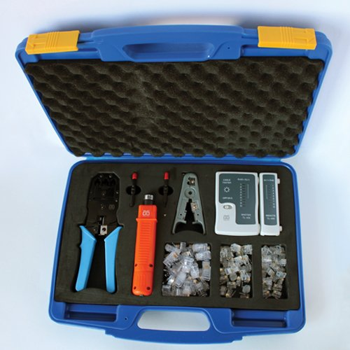 AG Cables AGC-K315A Professional Networking Tool Kit with Ca