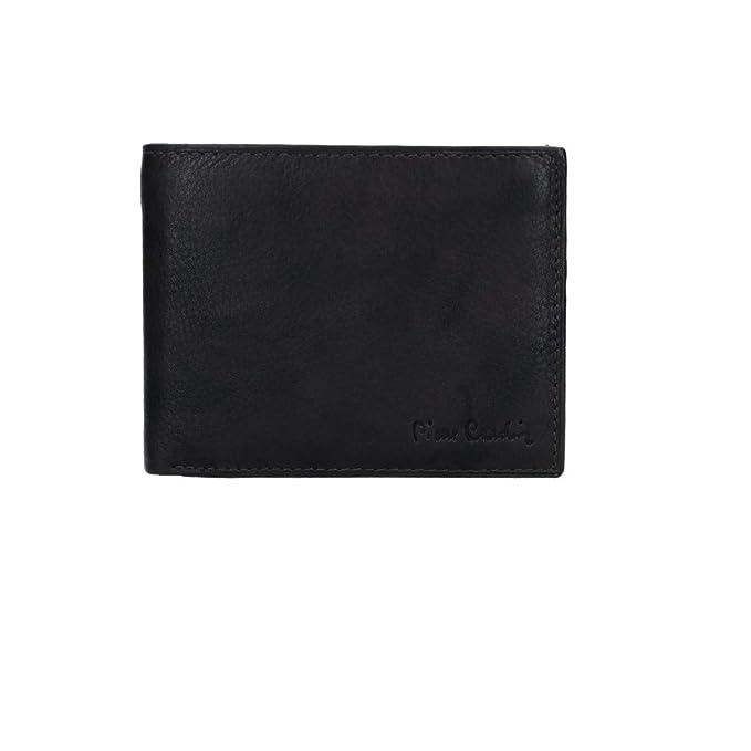 PIERRE CARDIN cartera hombre cuero moro con monedero y solapa VA2754: Amazon.es: Ropa y accesorios