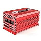 2000 Watt Portable Generator - BESTEK 2000W Power Inverter 3 AC Outlets 12V DC to 110V AC Car Inverter
