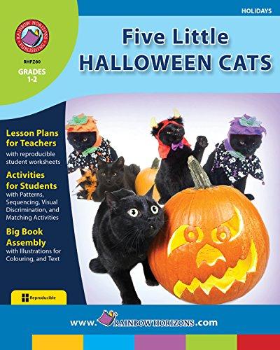 Five Little Halloween Cats Gr. -