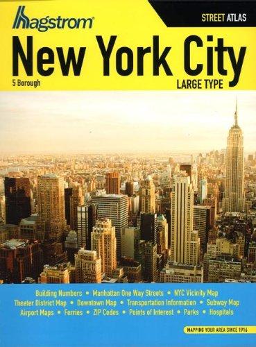 Hagstrom New York City Five Borough Atlas