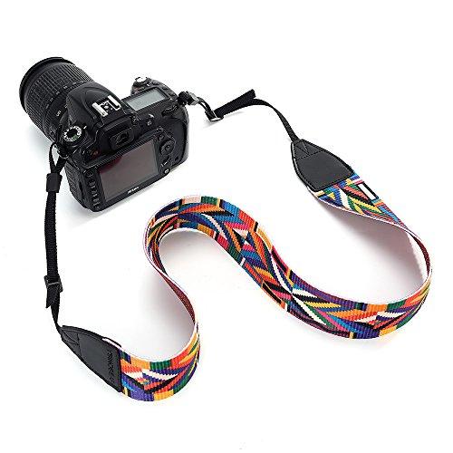 YsinoBear Camera Strap Camcorder Neck Shoulder Belt Bohemia Strap for All DSLR Camera Nikon Canon Sony Olympus Samsung (Style 5)