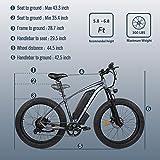 "Electric Snow Bike 27.5"" 2.8"" Fat Tire 500W EBike"
