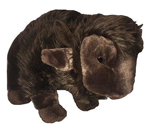 [Unipak Plush Animal Brown Nuna Bison] (Fawn Costume Headband)