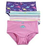 Little Girls' 3 Pack Panties (Toddler/Kid)