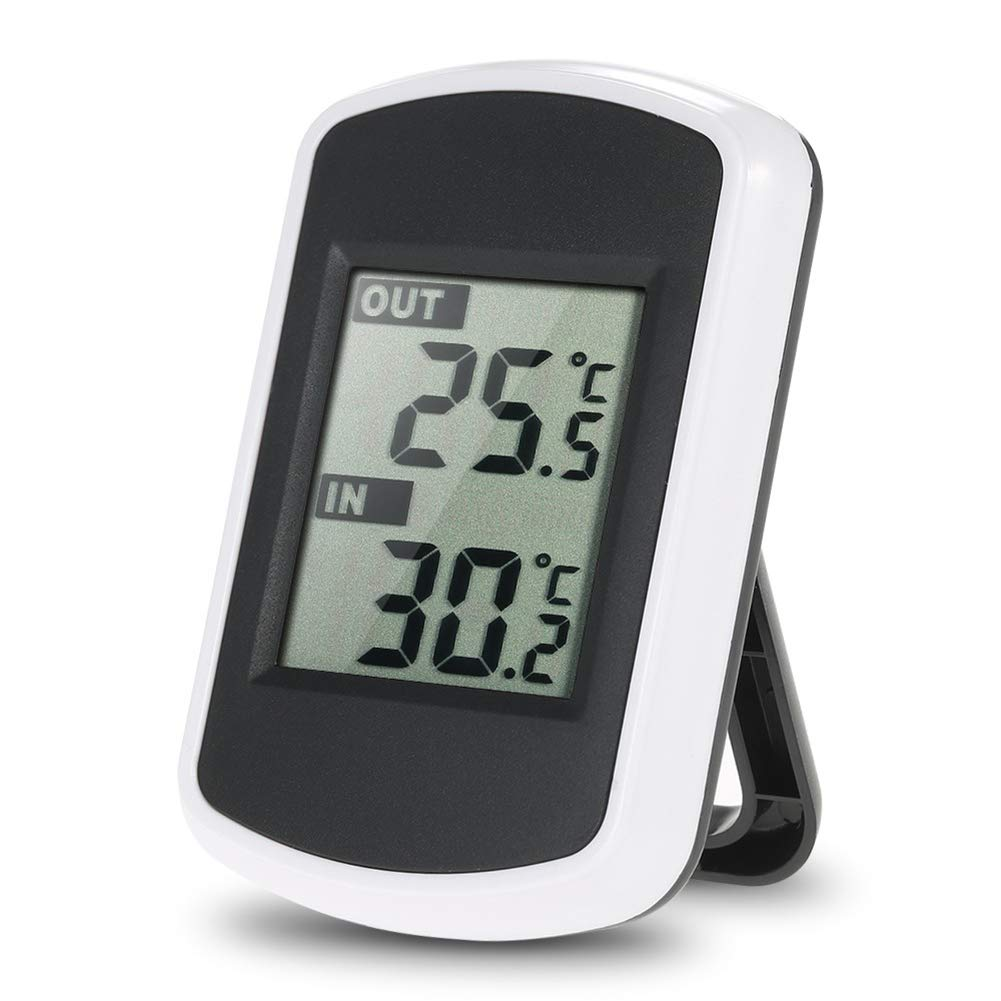 Hot Tub Waterproof Wireless Digtal Temperature Metre Guage for Spa Saiko Floating Swimming Pool Thermometer with LCD receiver Pond