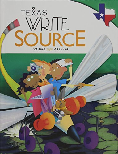 Great Source Write Source Texas: Student Edition  Grade 4 2012