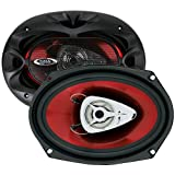 BOSS Audio CH6930 Car Speakers - 400 Watts of Power Per Pair and 200 Watts Each, 6 x 9 Inch, Full Range, 3 Way, Sold in...