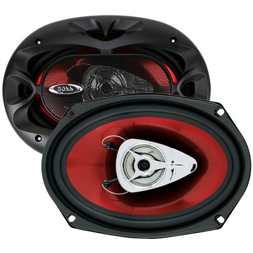 BOSS Audio CH6920 Car Speakers - 350 Watts of Power Per Pair and 175 Watts Each, 6 x 9 Inch, Full Range, 2 Way, Sold in Pairs, Easy Mounting