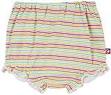 Zutano Baby Girls' Rainbow Candy Stripe Bloomer, Multi, 18 Months