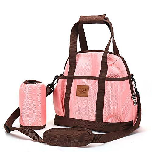 stylish diaper diaper bags shoulder bag for moms organizer pack of insulated ebay. Black Bedroom Furniture Sets. Home Design Ideas