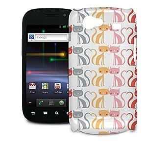 Phone Case For Samsung Galaxy Nexus S i9020 - Kitty Love Glossy Designer