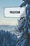 Moldova: Ruled Travel Diary Notebook or Journey  Journal - Lined Trip Pocketbook for Men and Women with Lines