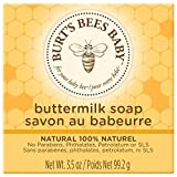 Burt's Bees Baby Buttermilk Soap, 100% Natural Baby Soap Bar, 3.5 Ounce Bar (Pack of 3)