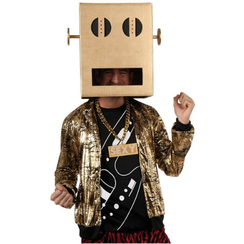 Shuffle Bot Party Rock Anthem Costume - Standard - Chest Size 40-44 -