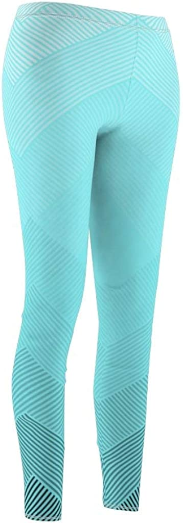 Nordix Limited Abstract Geometric Electric Blue Womens Cut /& Sew Casual Leggings