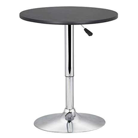 Amazon round counter height bar table adjustable swivel bistro round counter height bar table adjustable swivel bistro pub drinks snacks table by allgoodsdelight365 watchthetrailerfo