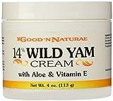 Good N Natural - 14% Wild Yam Cream with Aloe and Vitamin E - 4 oz Cream by Good n Natural