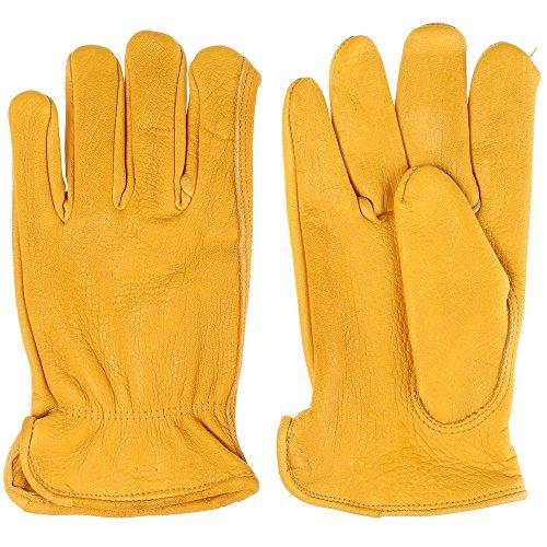 Tuff Mate Gloves Mens Tuff Mate 1508 Elkskin Glove M Tan (Tuff Mens Glove)