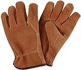 Esschert Design Pig Grain Leather Garden Gloves