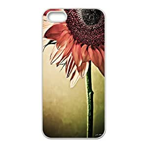Colorful Sunflower Pattern Hard Case Cover Back Skin Protector for Iphone Case 5,5S HSL461200