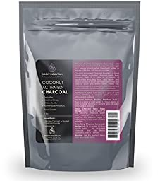 Coconut Activated Charcoal Powder, (1 lb bulk), Food Grade, Detoxifier, Teeth Whitening and Digestive Health Aid