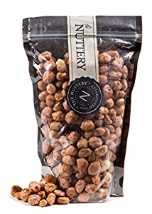 The Nuttery Toffee Coated Peanuts-16 ounce Pouch Bags (1lb)