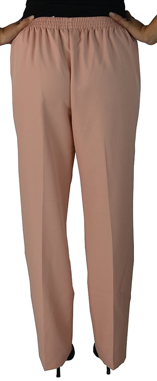 Alfred Dunner Women's Loose Leg Pants 8 Peach
