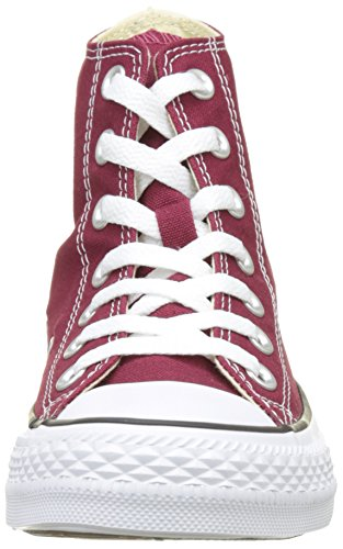 Converse Dames All Star Hi M9613c Kastanjebruine Canvas Trainers 4 Ons
