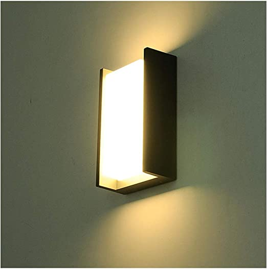 aplique pared Lámpara de pared LED a prueba de agua creativa, pasillo de casa moderno y